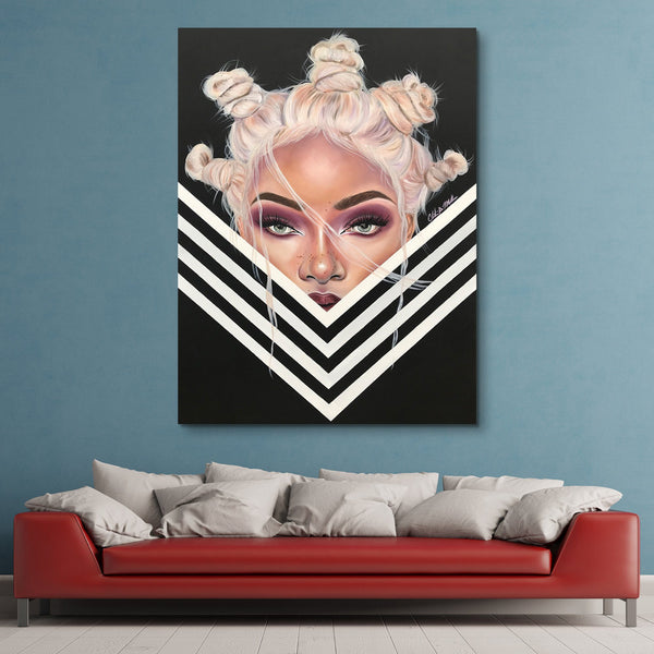 Stina Aleah - Tantalized wall art