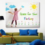 Kid's Space wall art