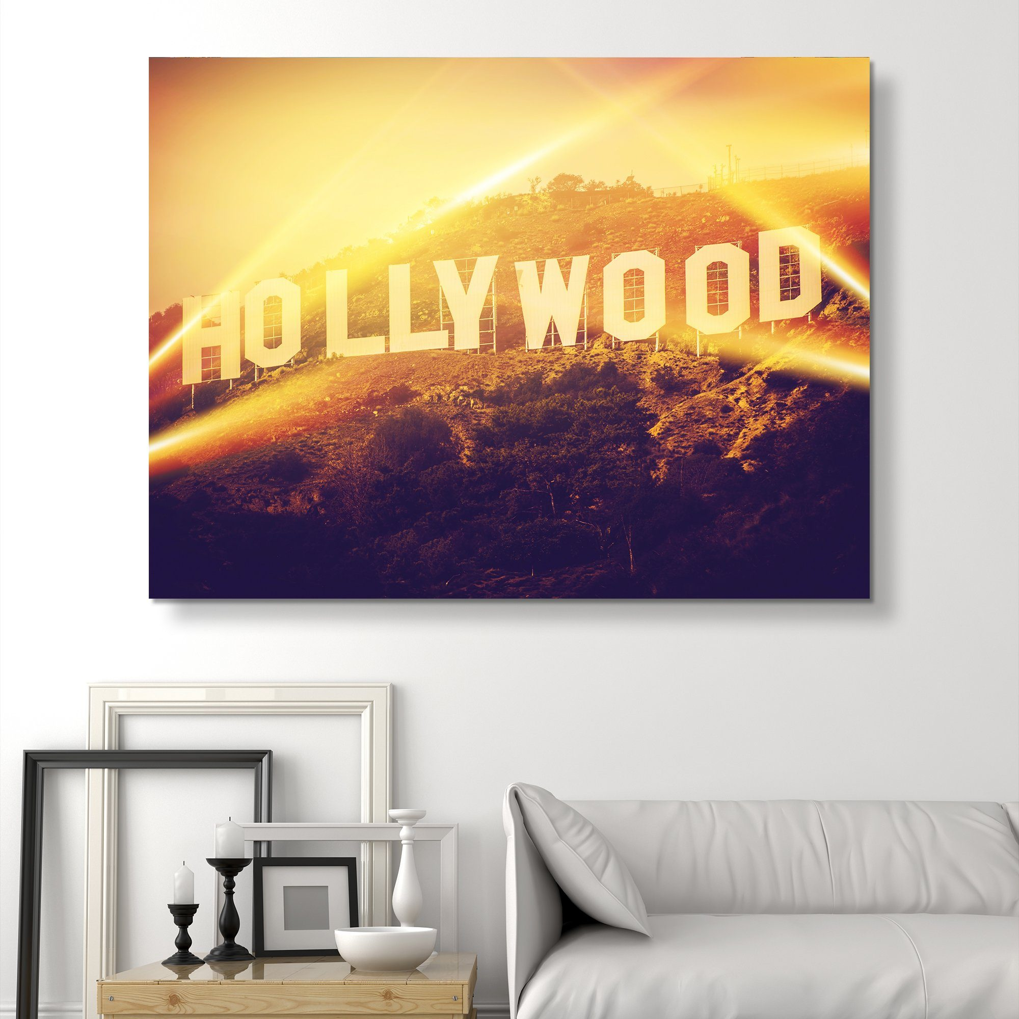 Hollywood wall art