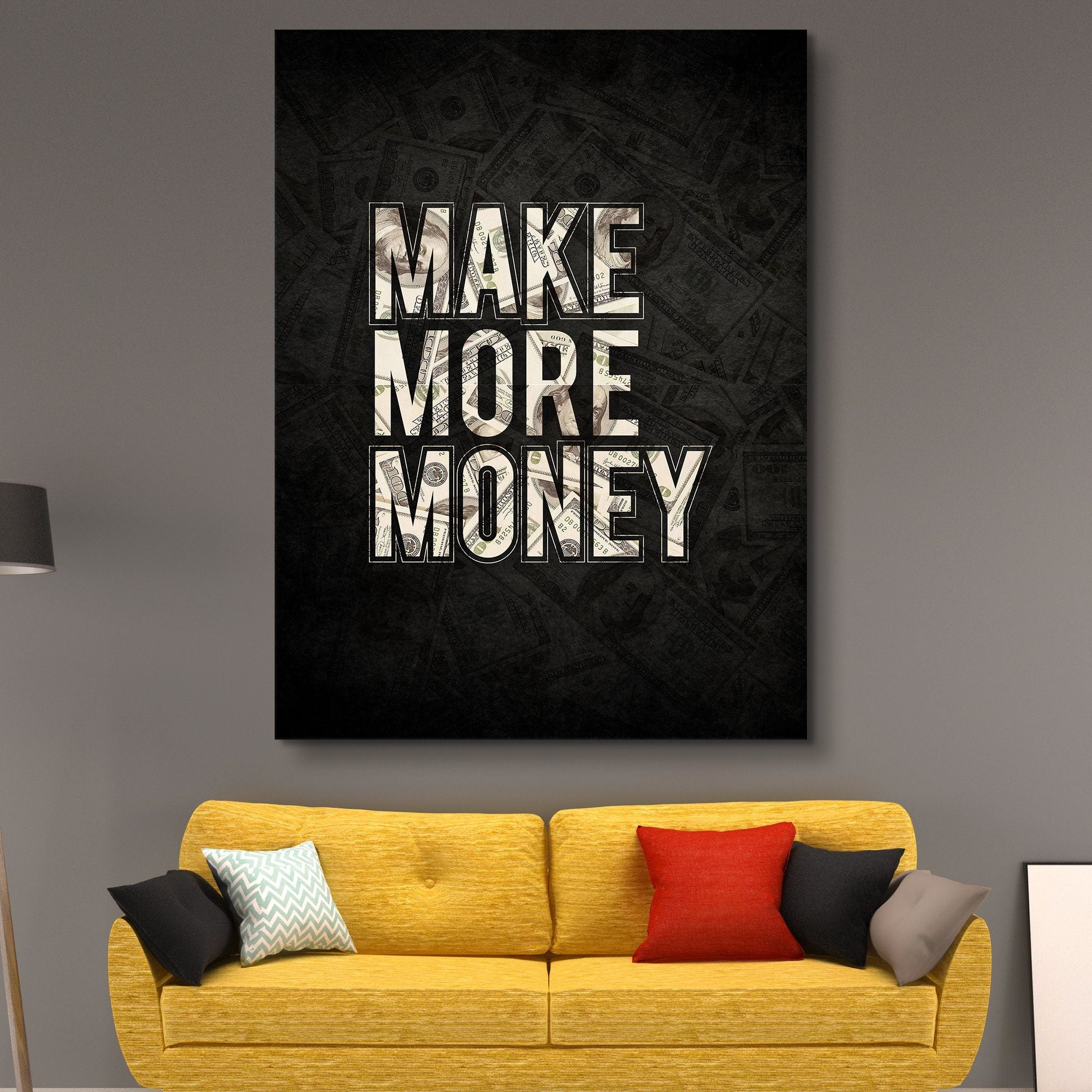 Make More Money wall art
