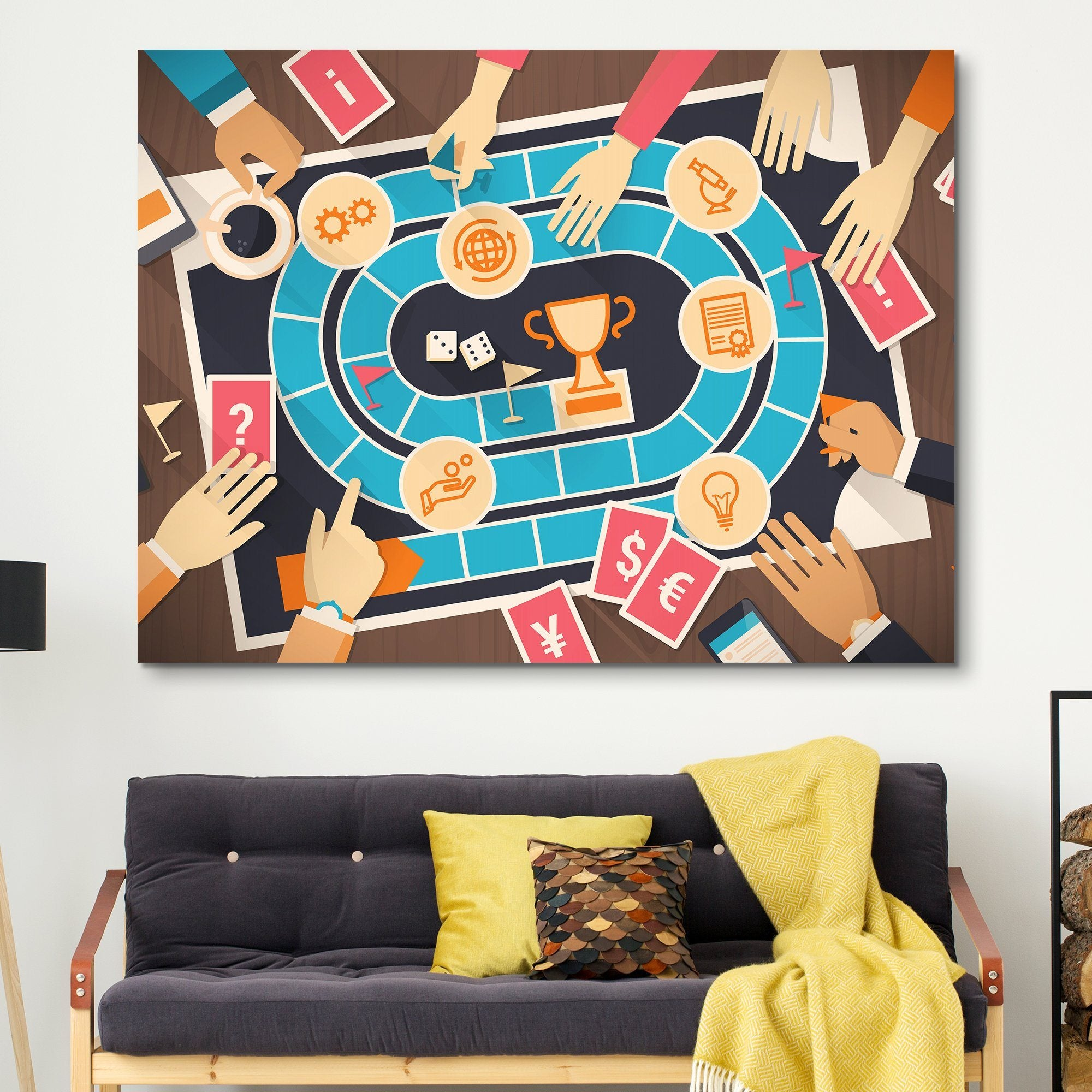 Board Game wall art