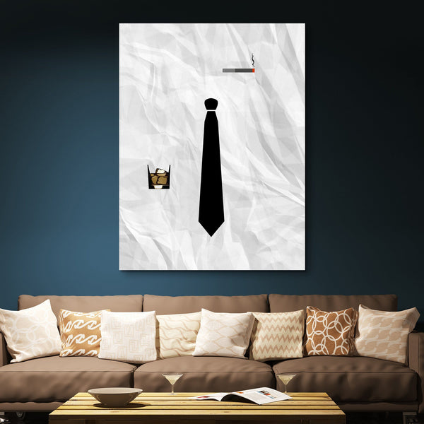 Mad Men wall art