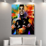 The Champ wall art