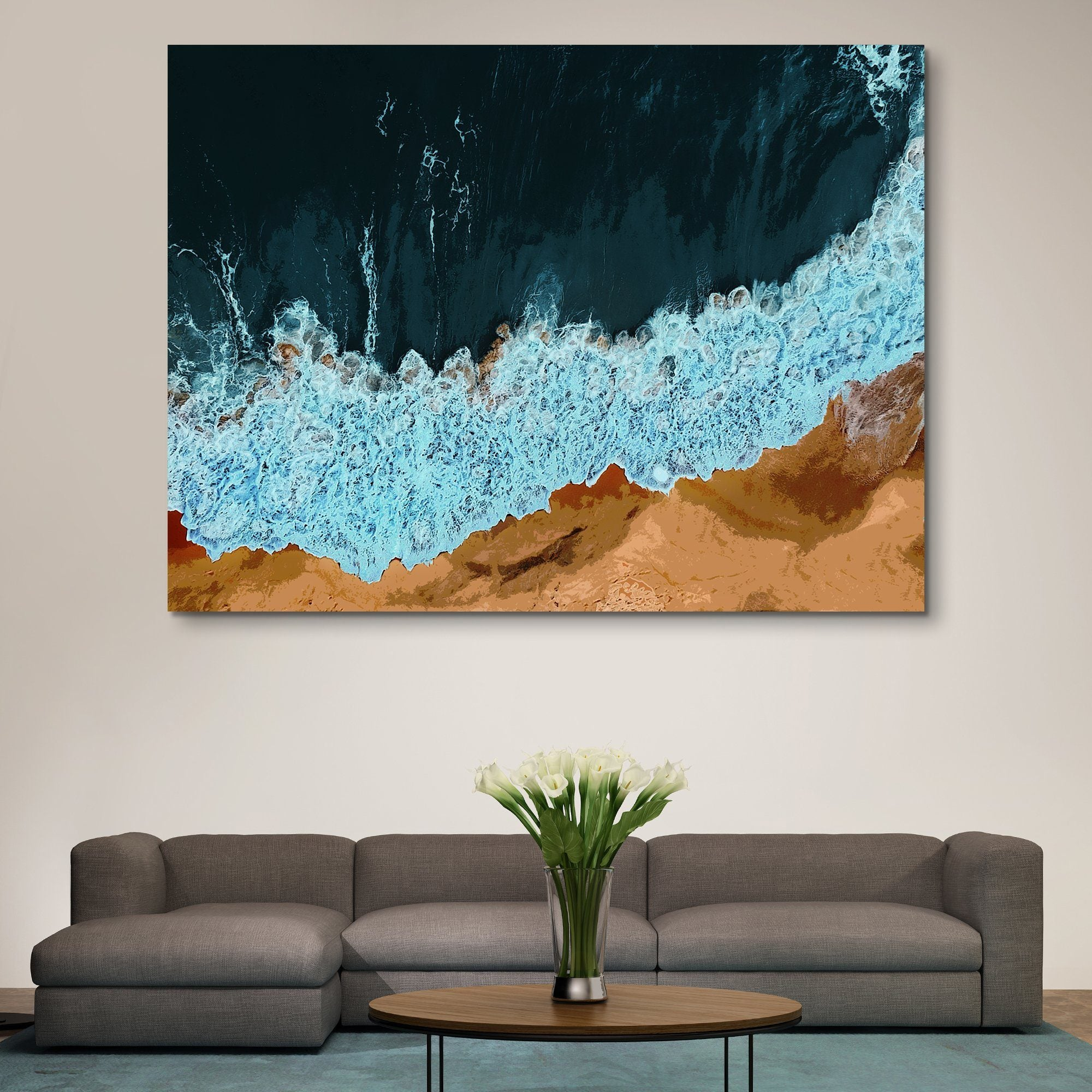 Waves of Solitude wall art