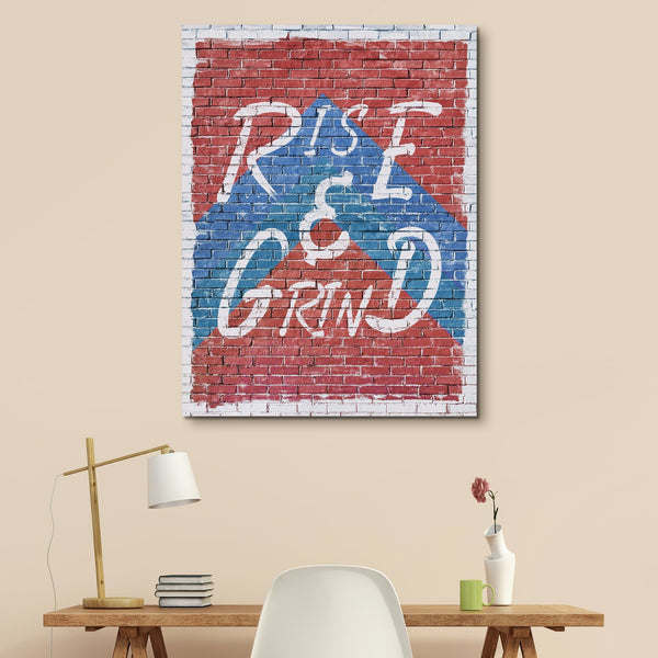 Rise And Grind wall art