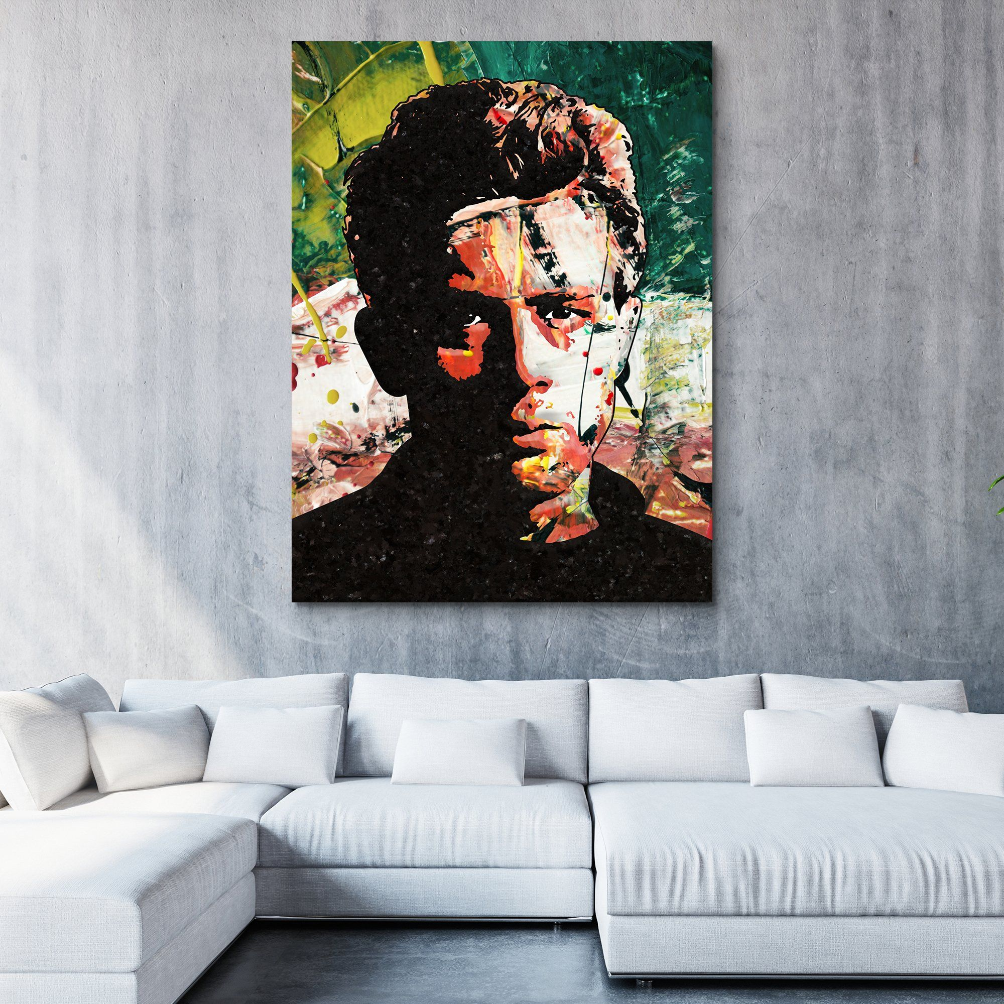 James Dean wall art