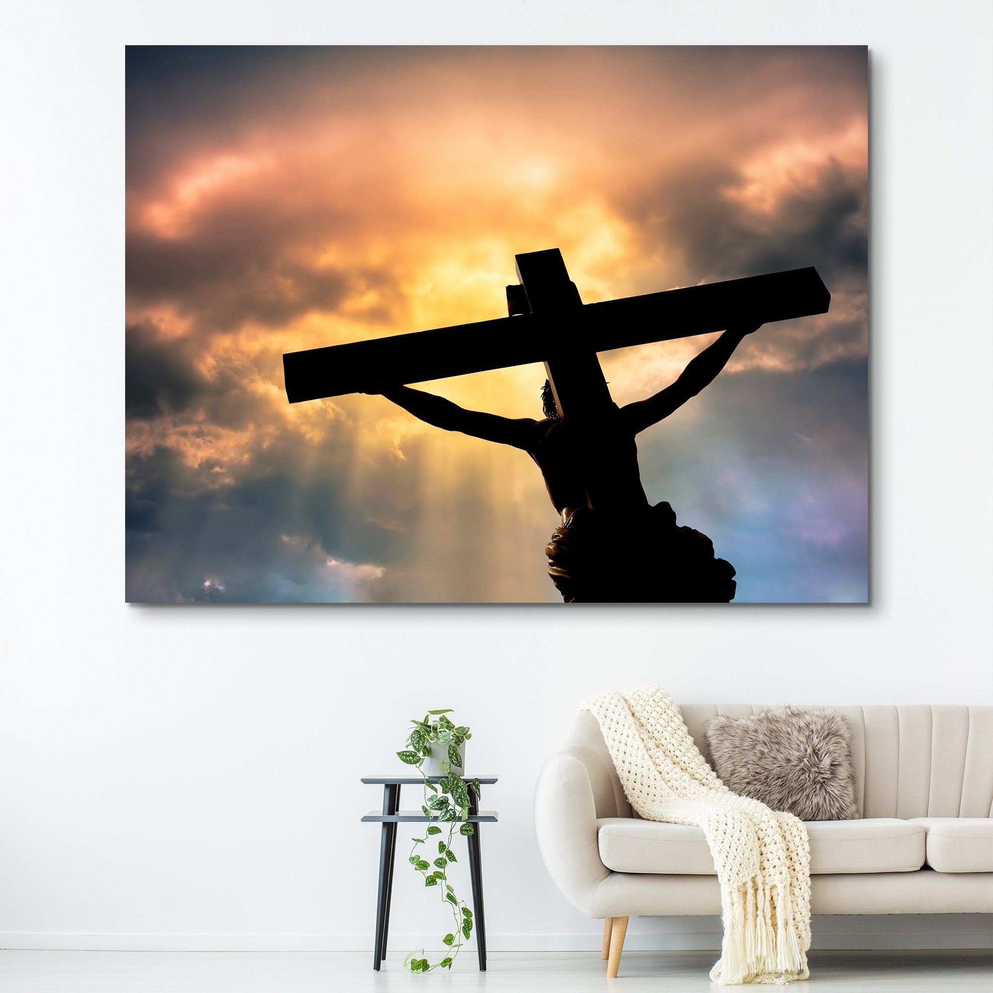Jesus Christ's Sacrifice wall art
