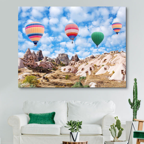Colorful Balloons of Cappadocia wall art