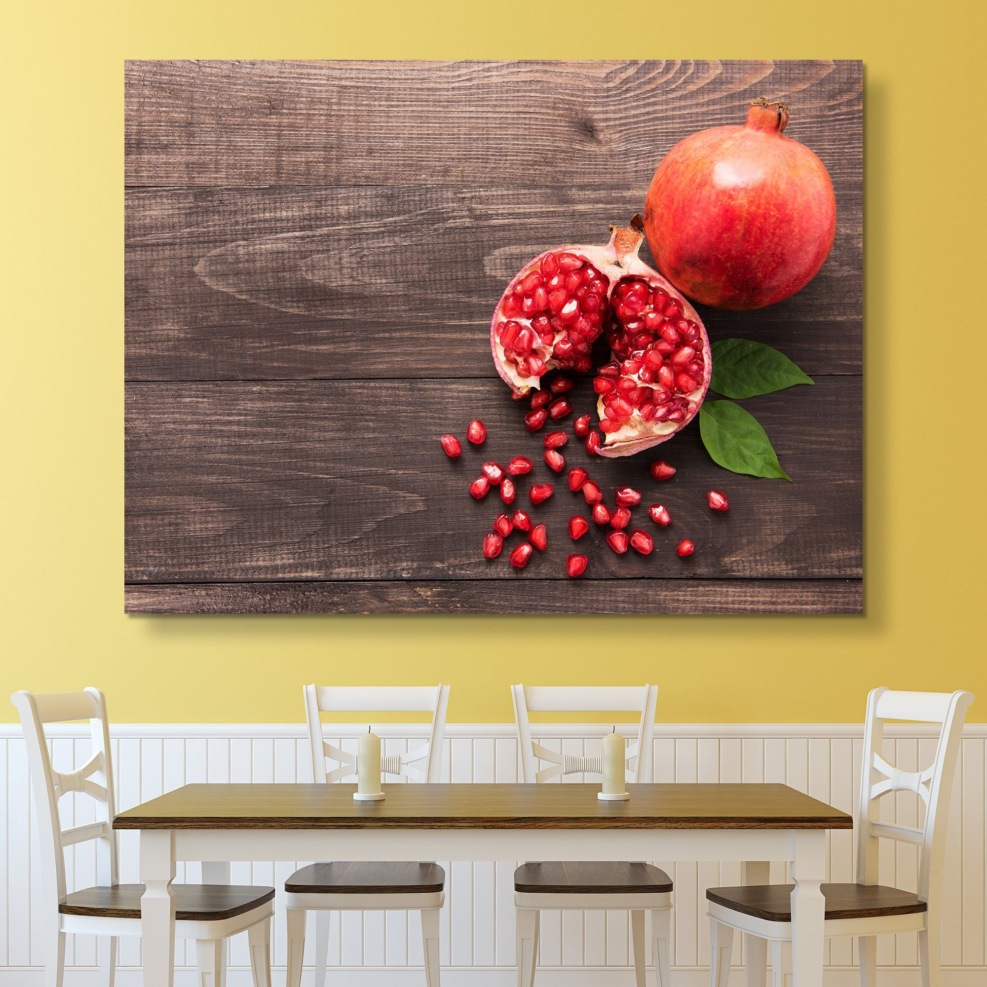 Pomegranate wall art