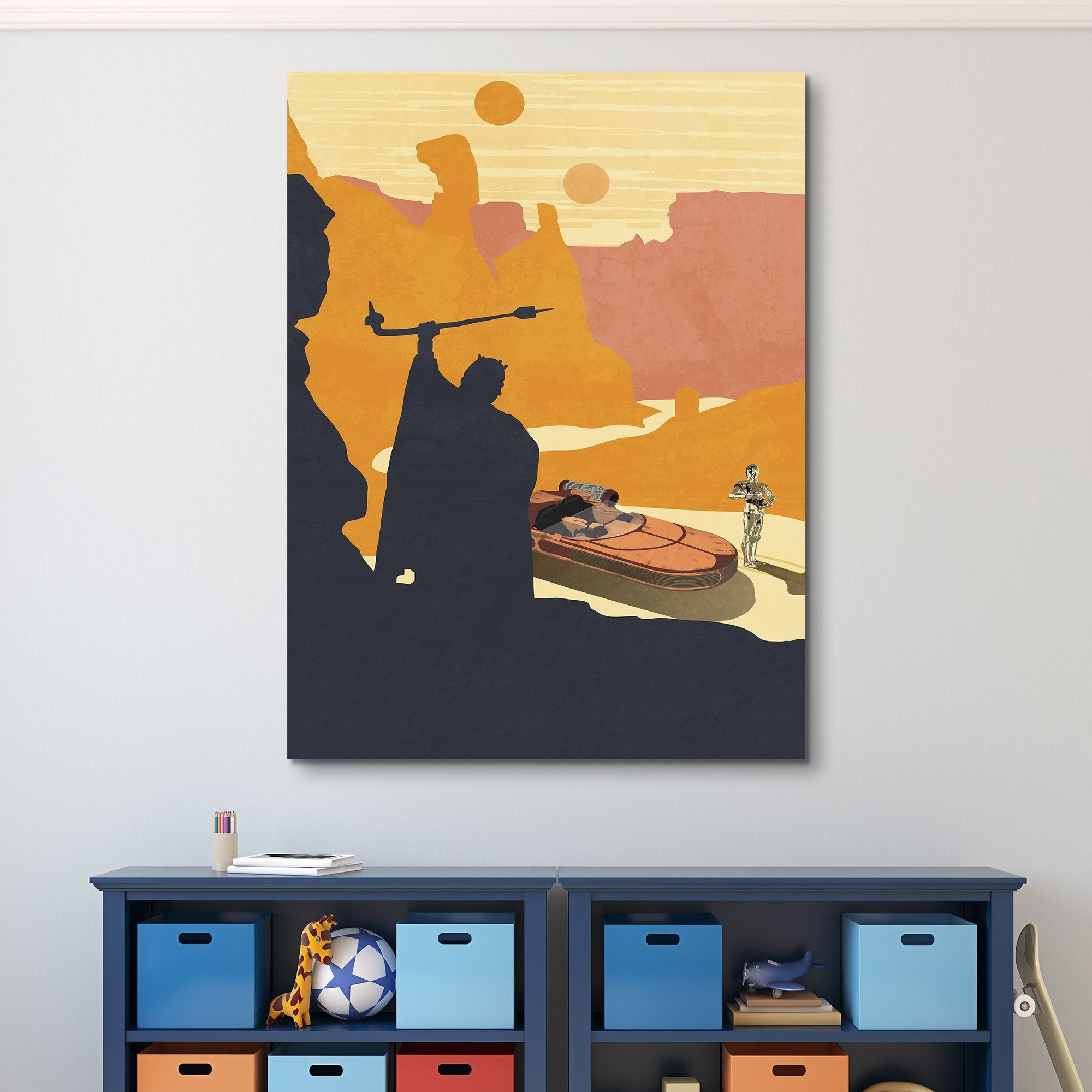 Original Trilogy I wall art