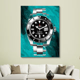 King of Time - Green Edition wall art