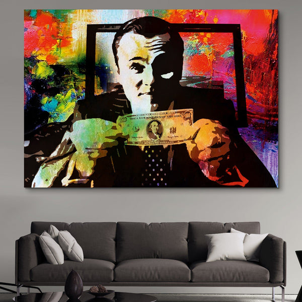 Money Talks wall art
