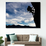 Mountain Climber wall art