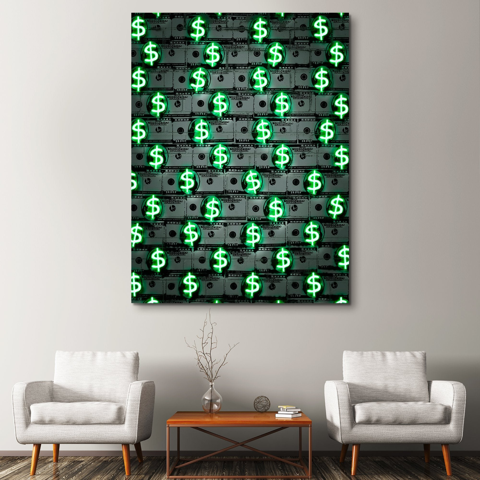 Money Money Money wall art