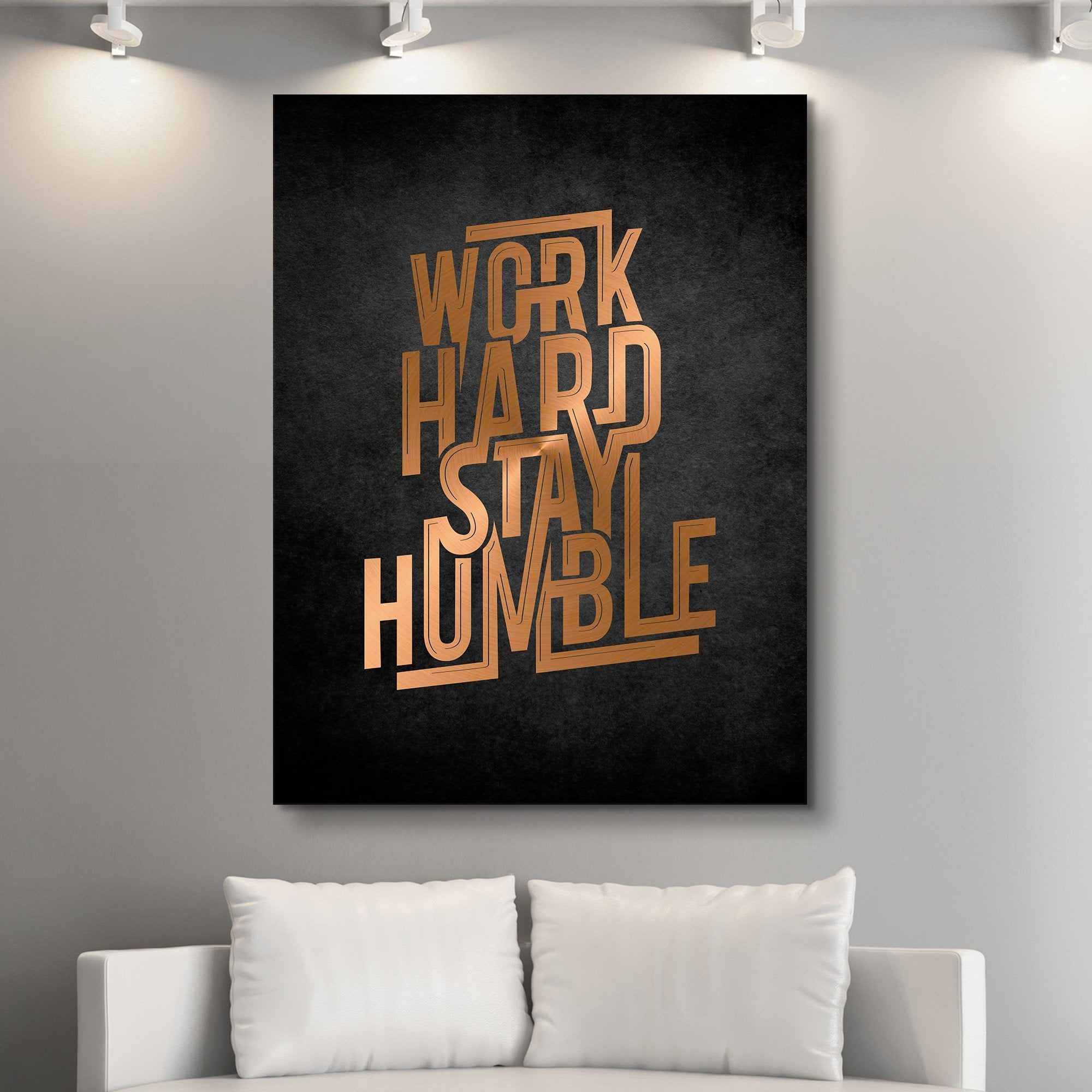 Work Hard, Stay Humble wall art