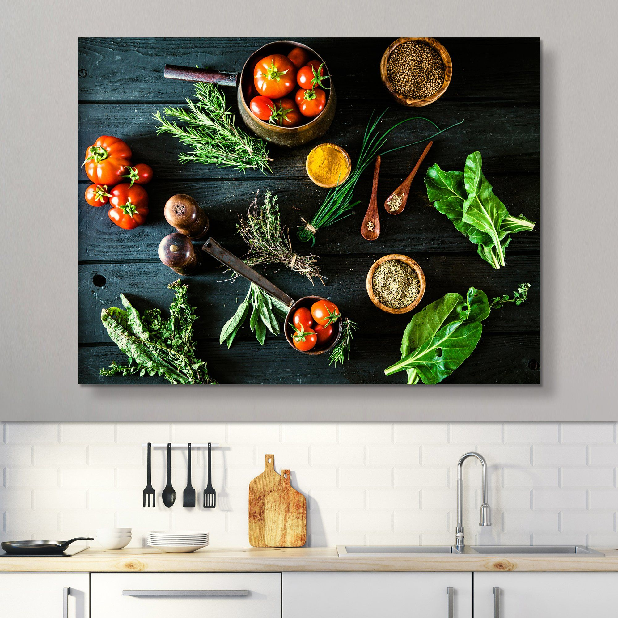 Bio Healthy Food wall art
