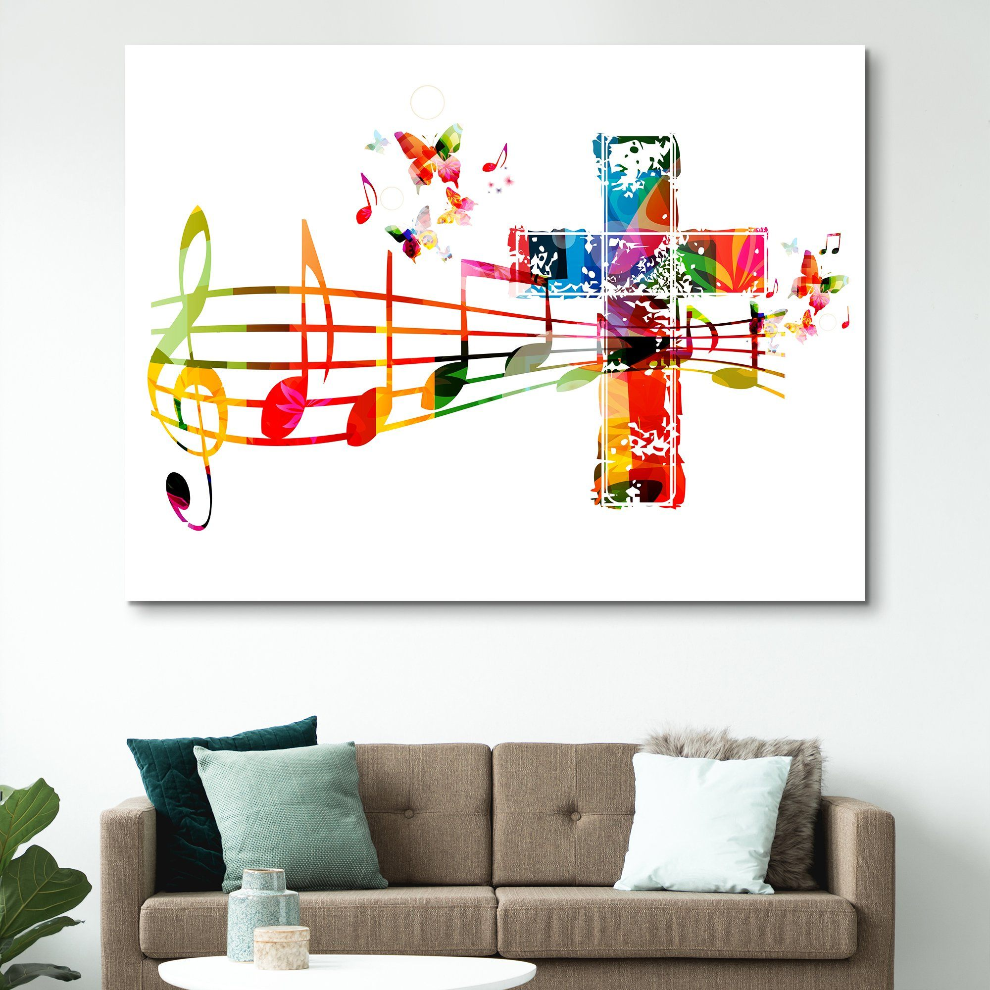 Sound of the Cross wall art