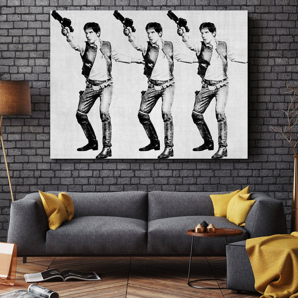 Space Cowboy wall art
