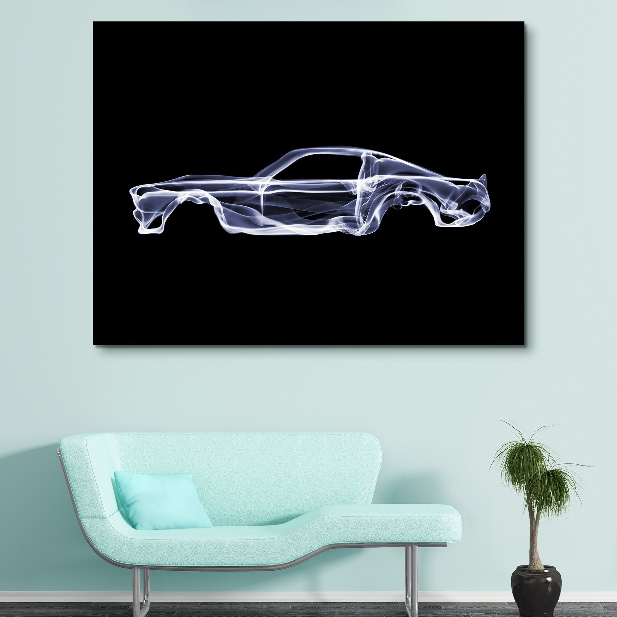 Ford Mustang GT wall art