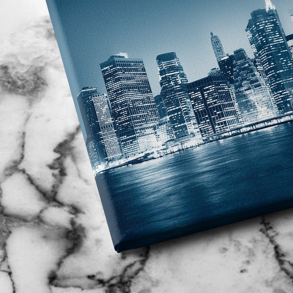 Night in New York canvas art