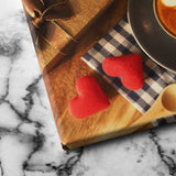 Hearts and Coffee canvas art