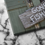 Gone Fishing canvas art