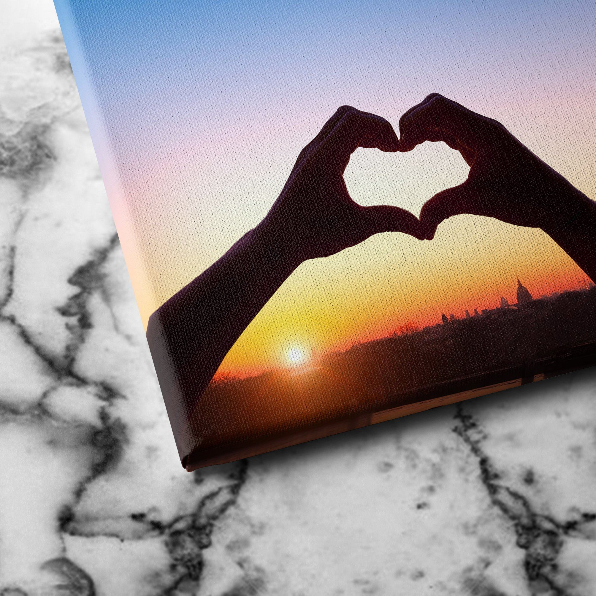 Love in Paris canvas art