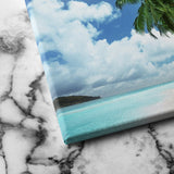 summer island canvas art