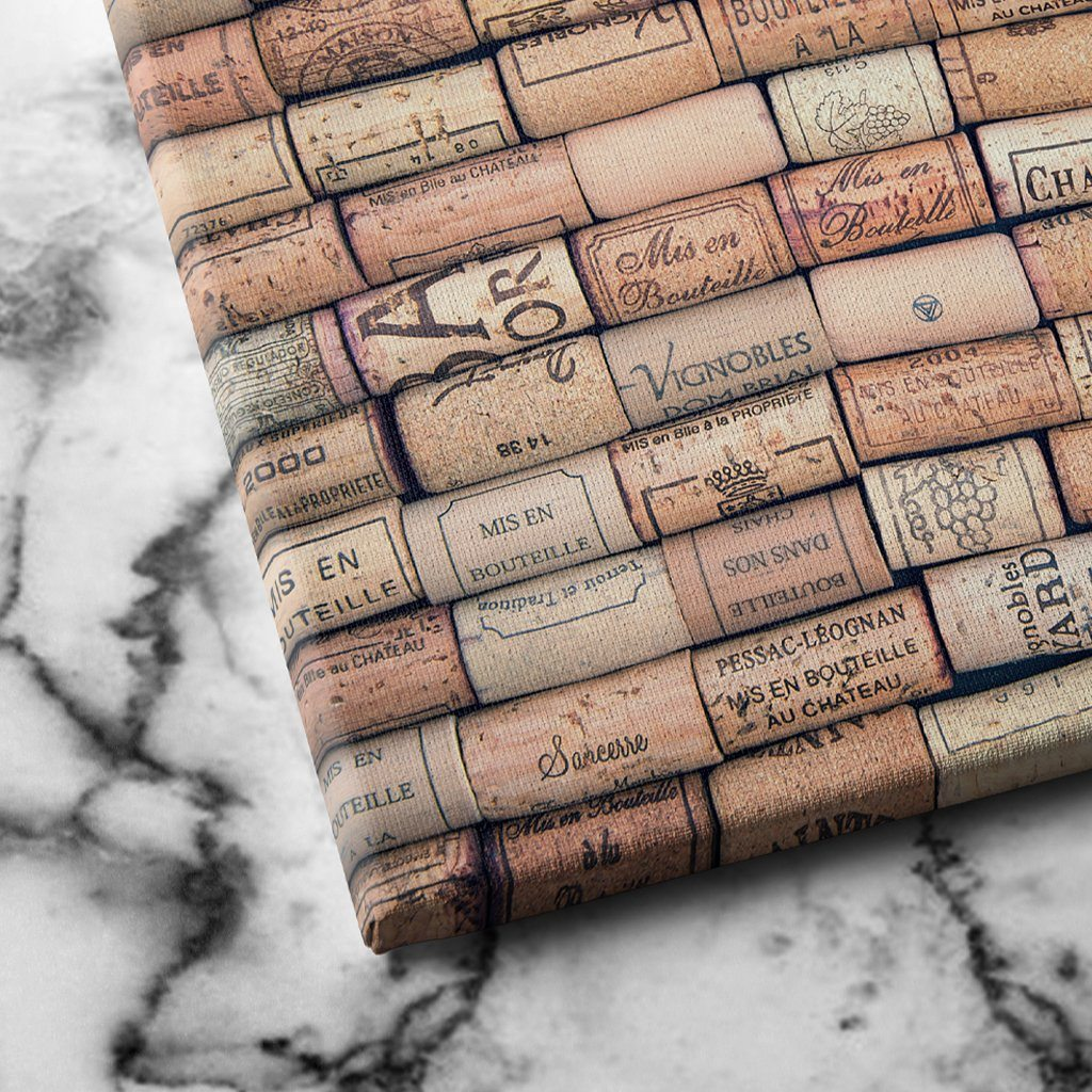 Antique Wine Corks canvas art