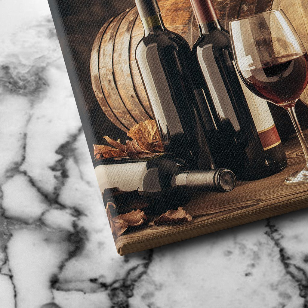 Elements of Wine canvas art