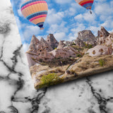 Hot air balloon canvas art