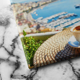 Cup of coffee canvas art
