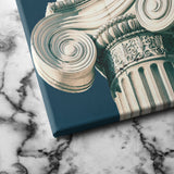 greek column canvas art