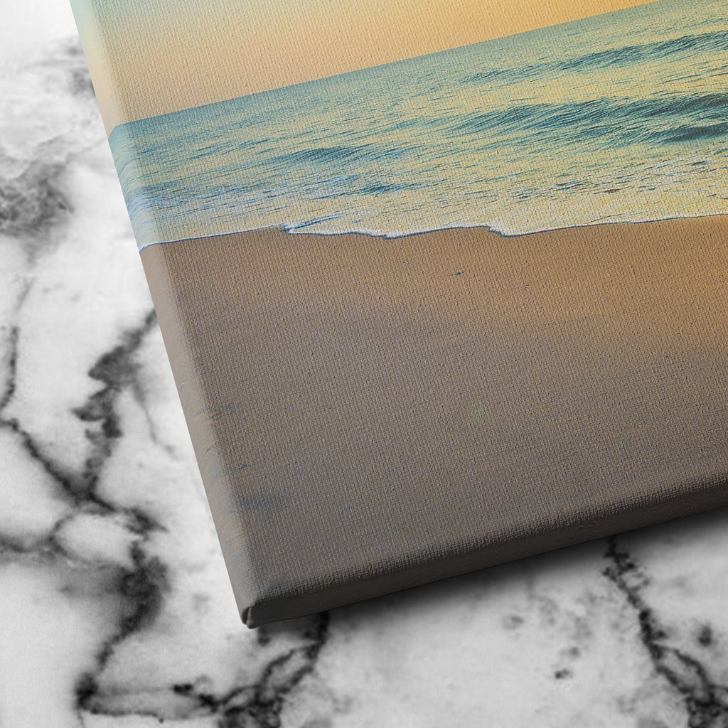 Sunset by the Beach canvas art