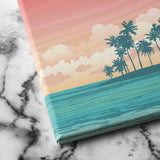 Tropical Island canvas art