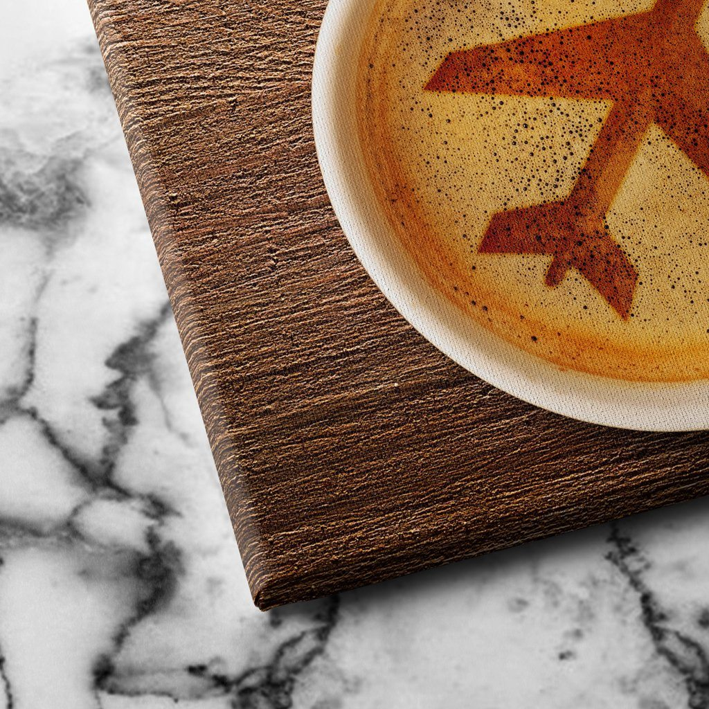 Airport Coffee canvas art