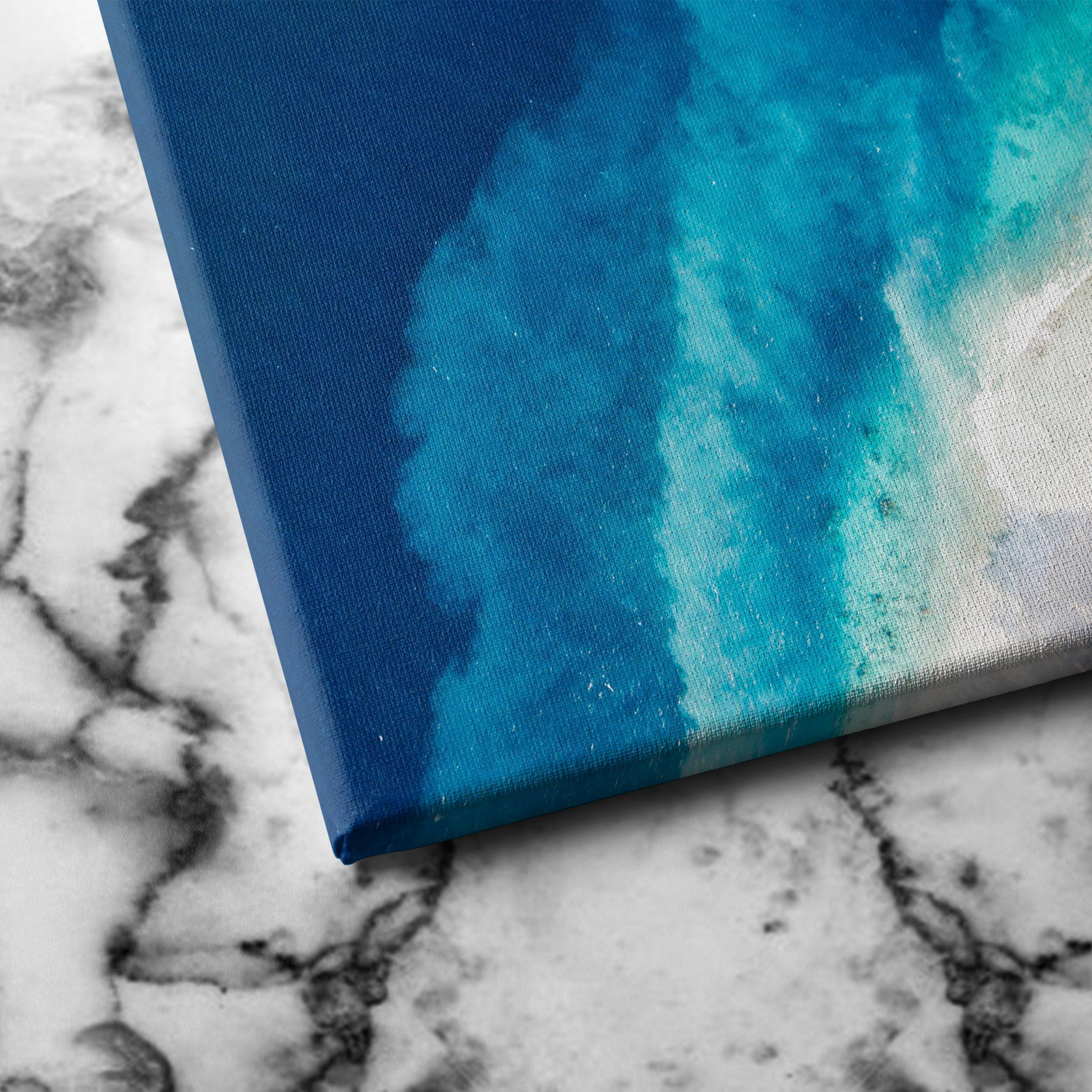 Top of the seabed canvas art