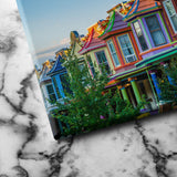 Colorful Houses canvas art