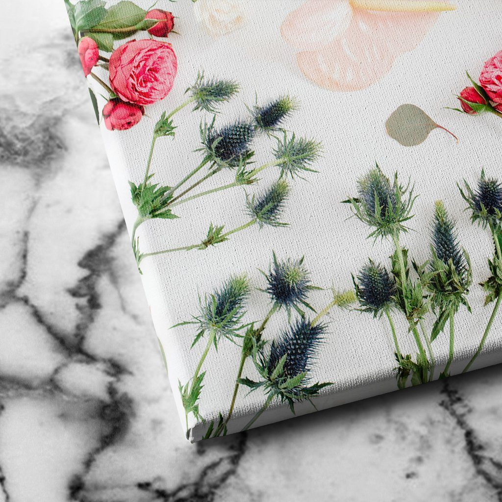 Floral Spread canvas art
