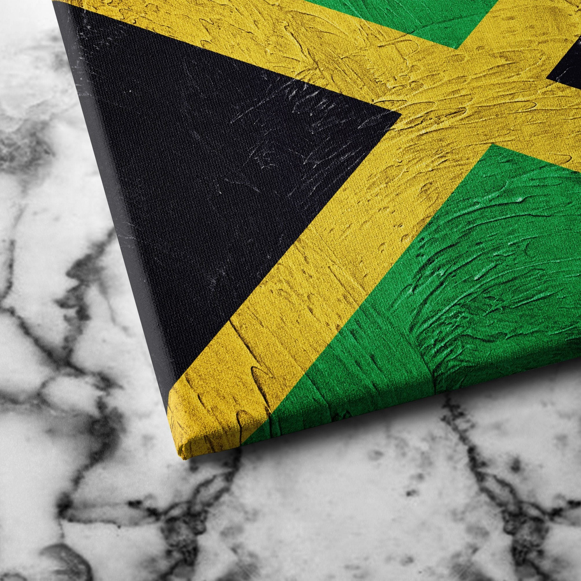Jamaican Flag canvas art