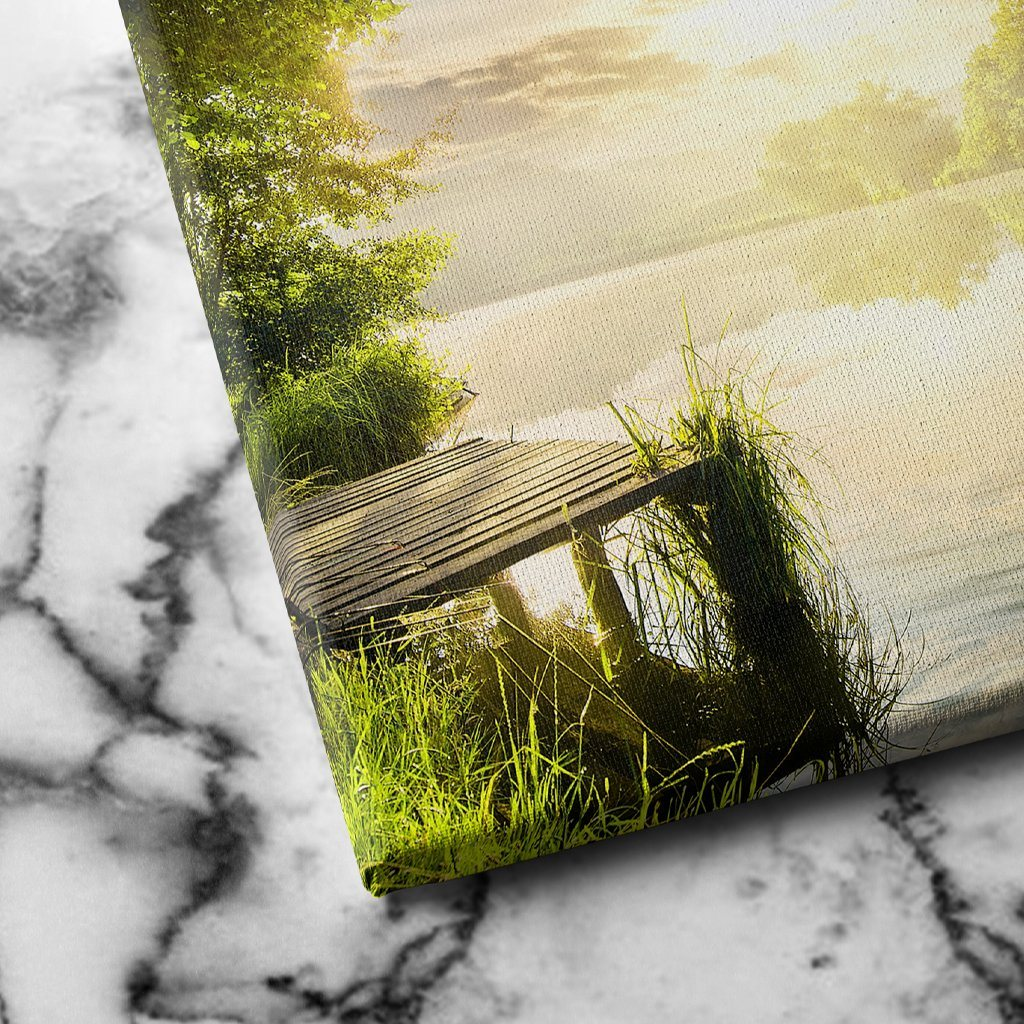 Along the Riverbanks canvas art
