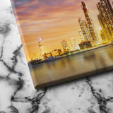 Dubai Marina Skyline canvas art