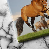 Stallion with the Herd canvas art