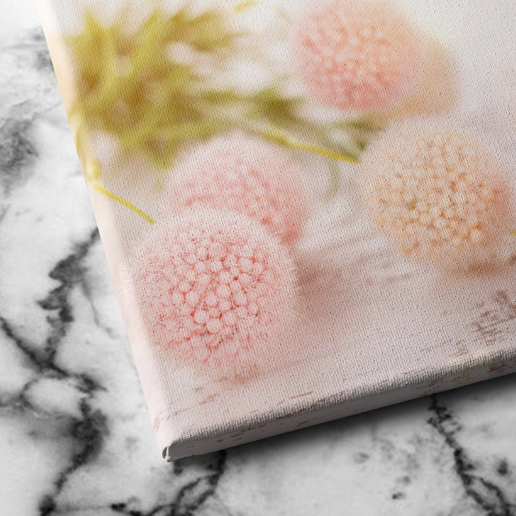 Flower Ball canvas art