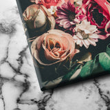 Retro Floral canvas art