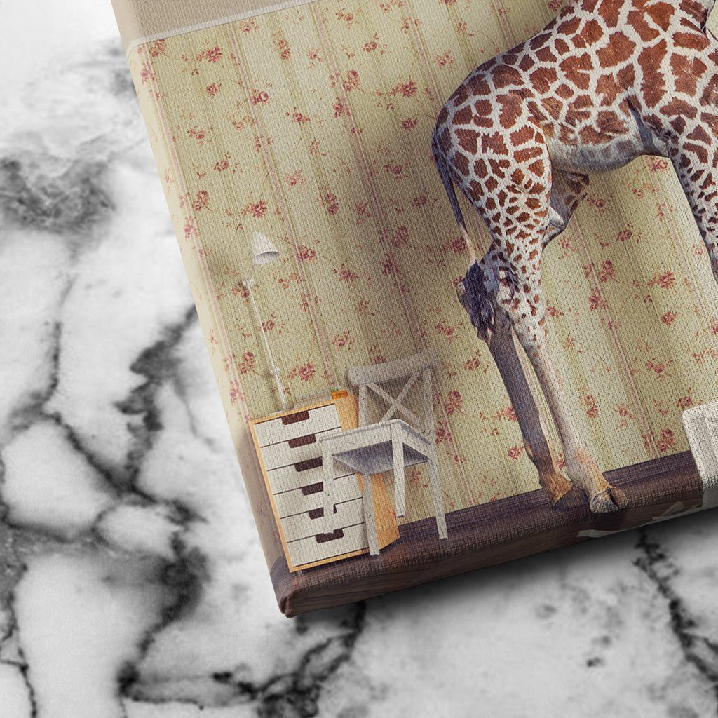Giraffe canvas art