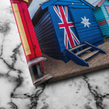 Australia Flag House canvas art