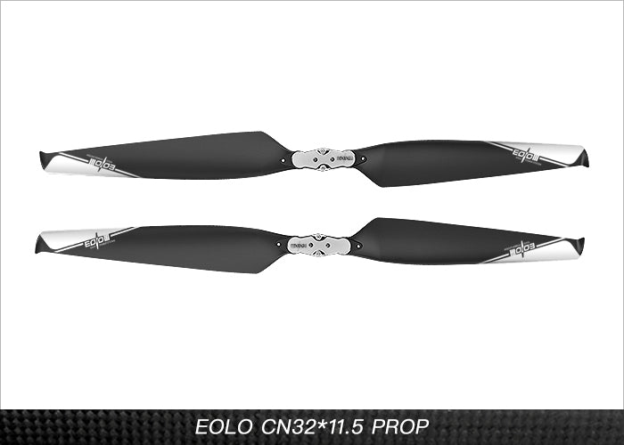Eolo Foldable Carbon Fiber and Nylon Composite UAV Propellers 32x11.5 Inch