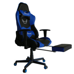 Kinsal Gaming Chair with Footrest  (RC-47 Blue)