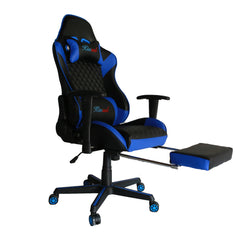 Kinsal Gaming Chair with Footrest (RC-43 Blue)